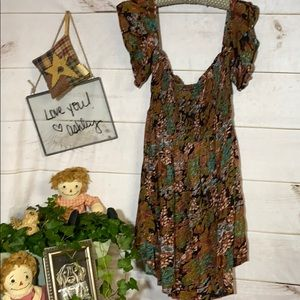 O'Neill; Off; Bare Shoulder Sun Dress; L
